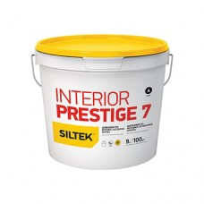 Фарба Siltek Interior Prestige 7 латексна шовковисто-матова. База А (0,9 л)